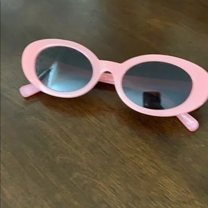 Elizabeth & James retro pink sunglasses